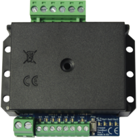 Creasol DomBus1 - Domoticz RS485 I/O module with 3 relay outputs, 1 AC input, 6 DC inputs