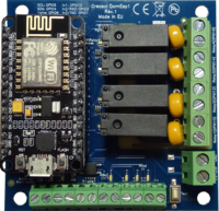 Creasol DomESP1 - electronic board for NodeMCU ESP8266 module